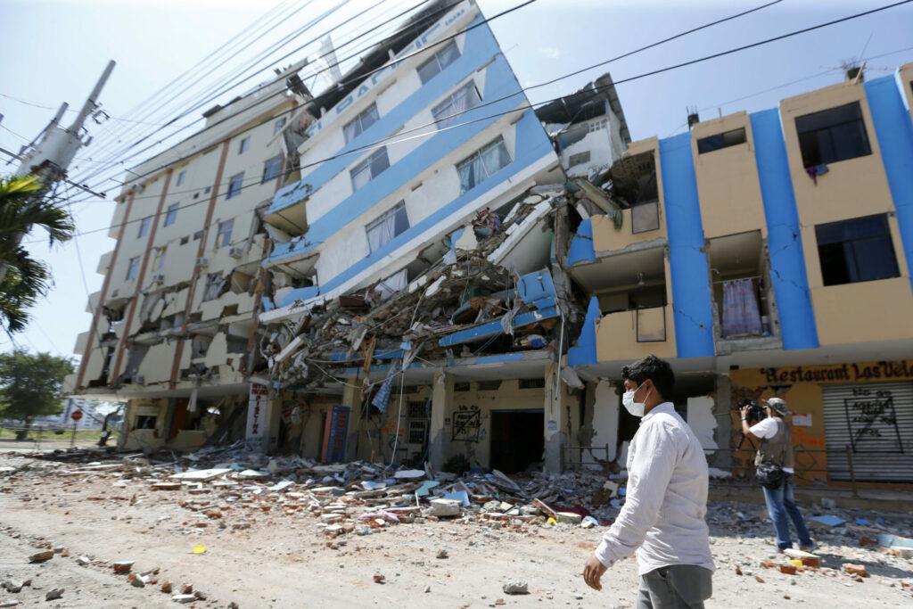 Ecuador earthquake in 2016