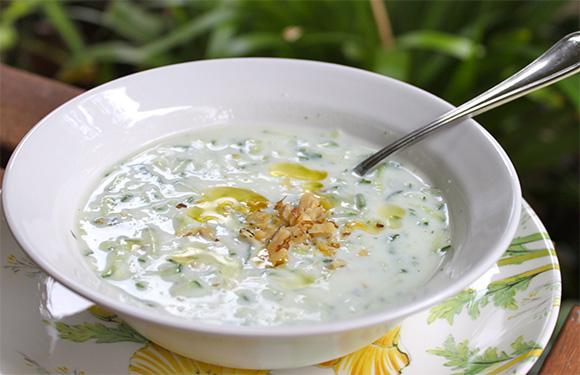 Bulgarian Cucumber Soup