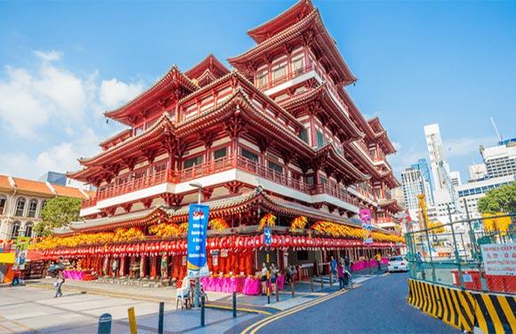 China and India Towns