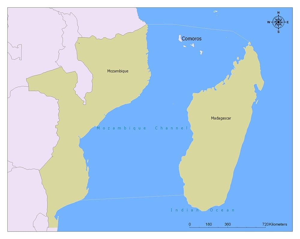 Neighboring Countries of Comoros