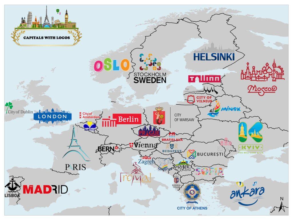 Capitals of European Countries