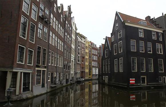 Stone Buildings in Amsterdam