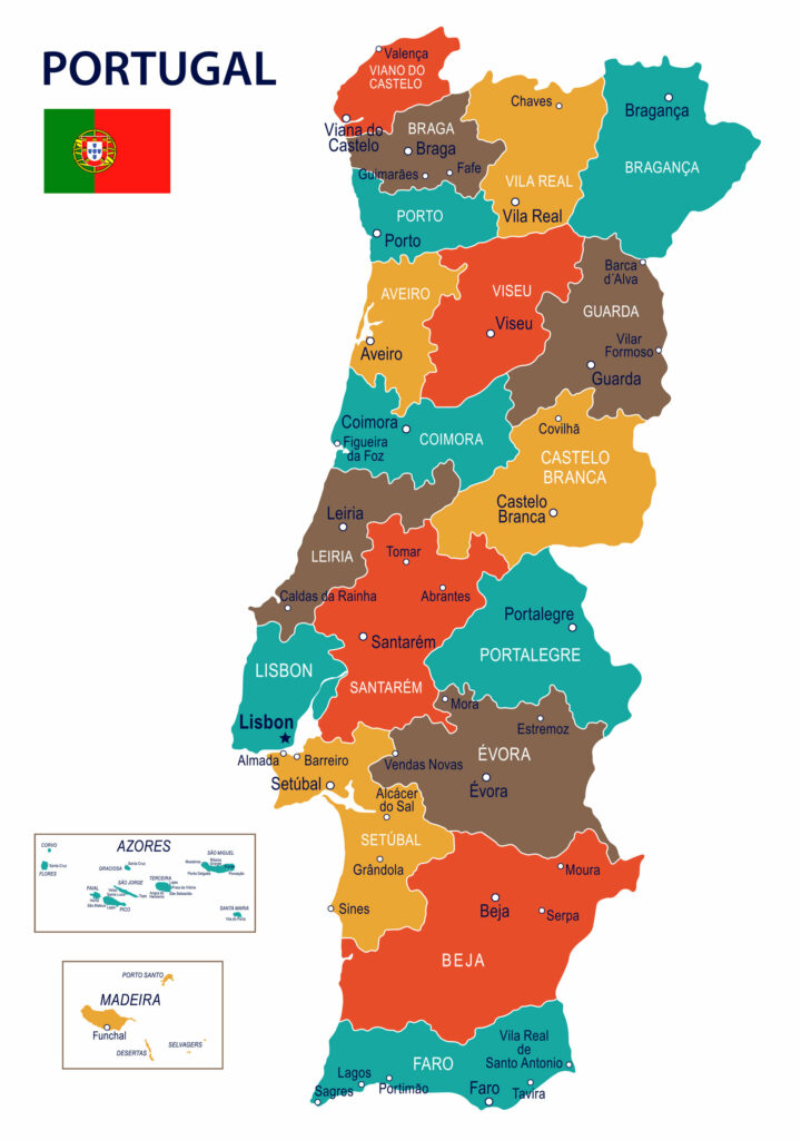 Portugal / Maps, Geography, Facts 2