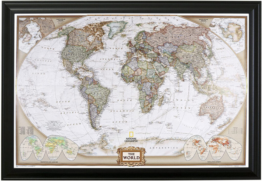 Best Push Pin World Map in 2021 4