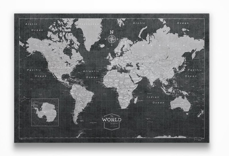 Best Push Pin World Map in 2021 3