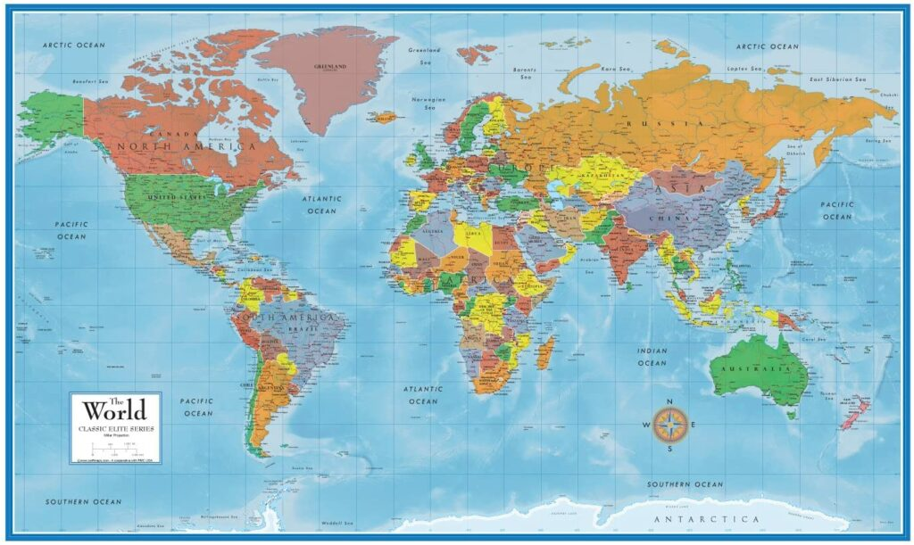 Best World Map Posters 2