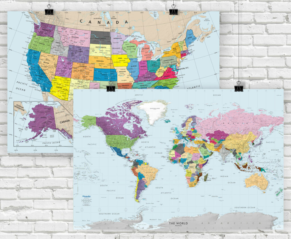 Best World Map Posters 4