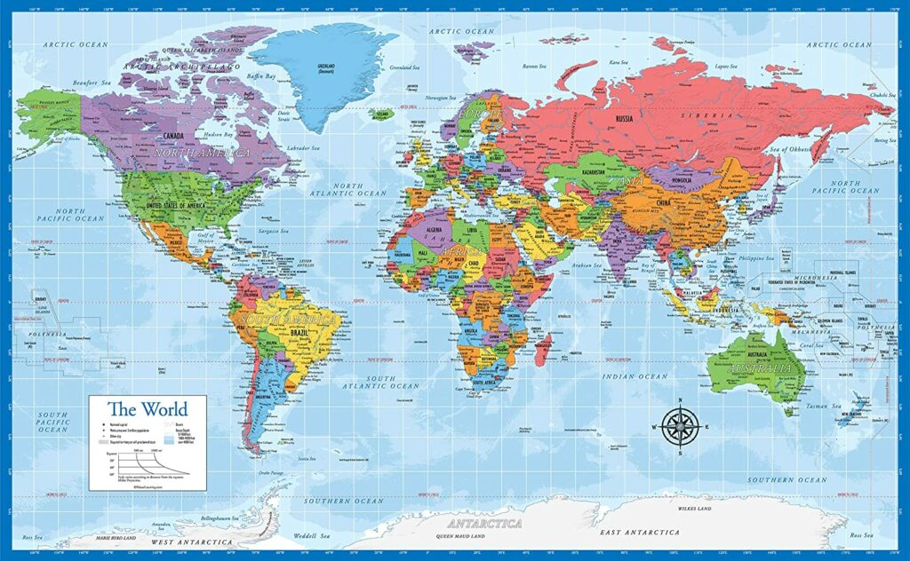 Best World Map Posters 3